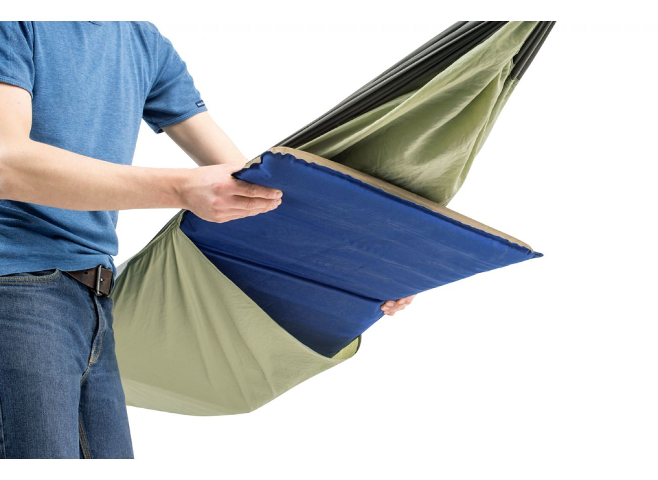 Outdoor Hängematte 1 Person Silk Traveller Thermo