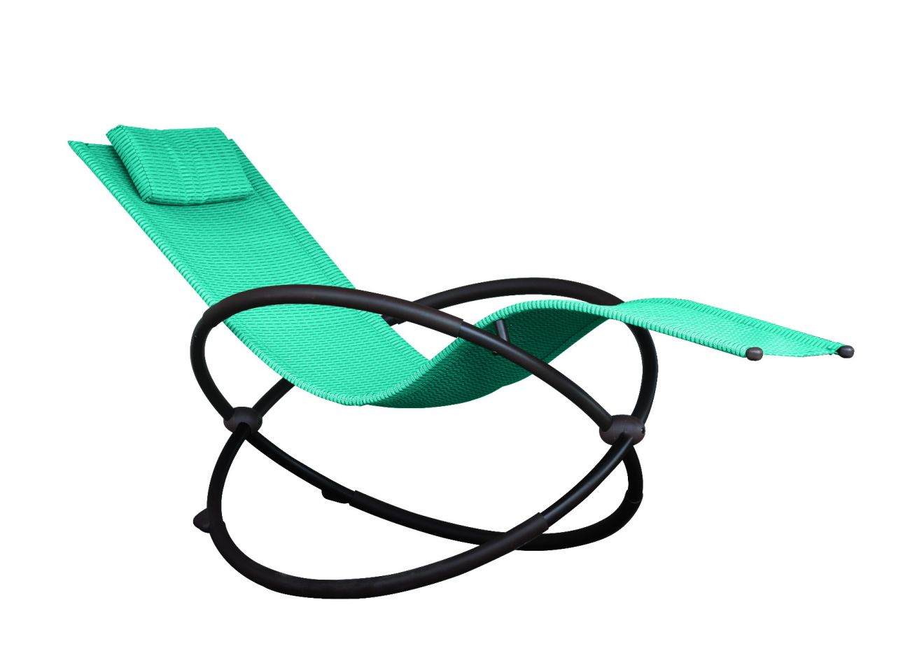 Schaukelstuhl 1 Person Orbital Lounger Blue