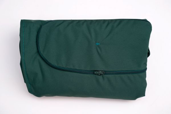 Kissenbezug Globo Royal Green Weatherproof