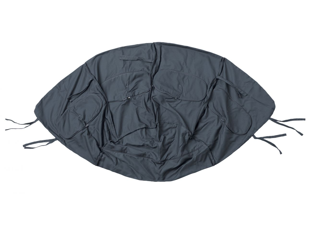Hängestühl 1 Person Globo Weatherproof Anthracite