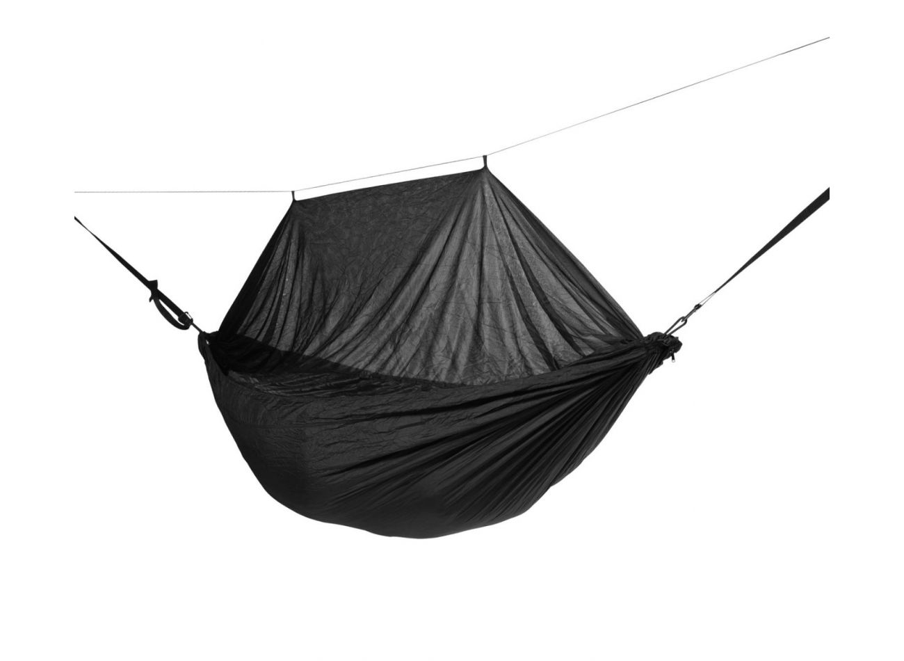 Outdoor Hängematte 1 Person Mosquito Black