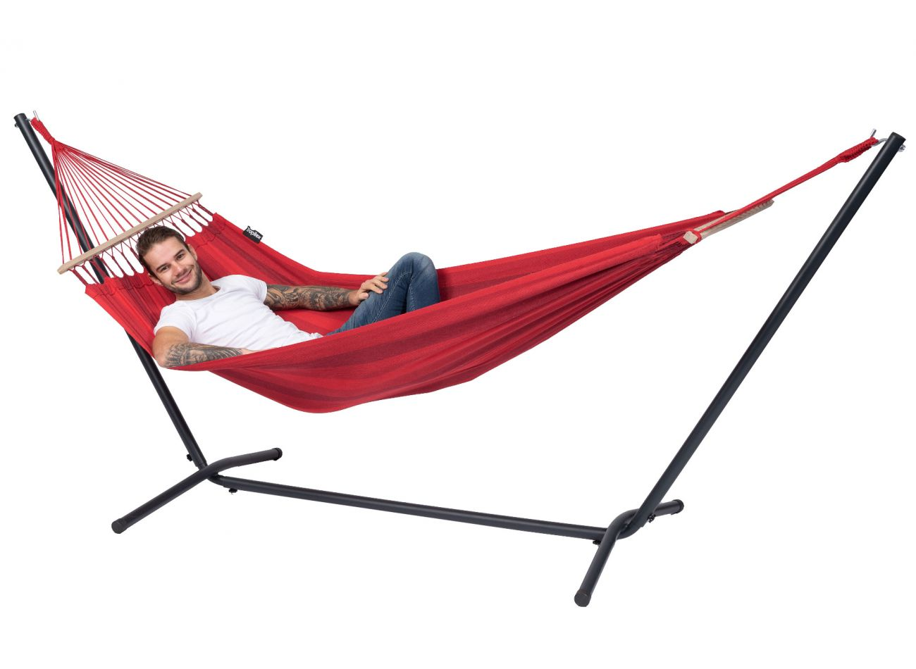 Hängematte 1 Person Relax Red